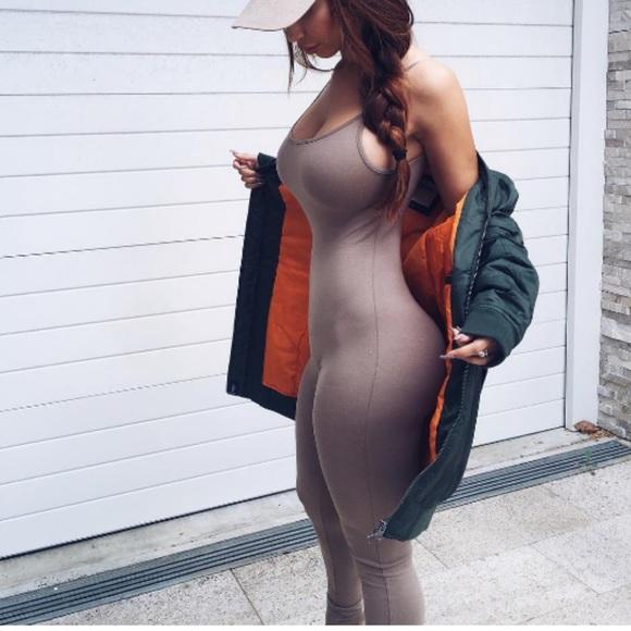 Fashion Nova Pants - Nude Suit